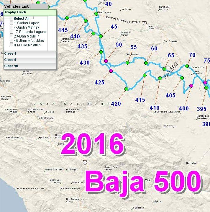 Baja 500 Offroad racing 2016